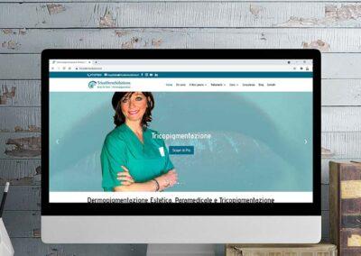 Dermopigmentazione: sviluppo sito web, logo e advertising