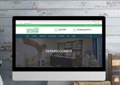Sviluppo sito web e strategia di comunicazione per Farmacia Rossi