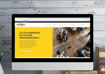 Sviluppo sito web per un'impresa di pulizie