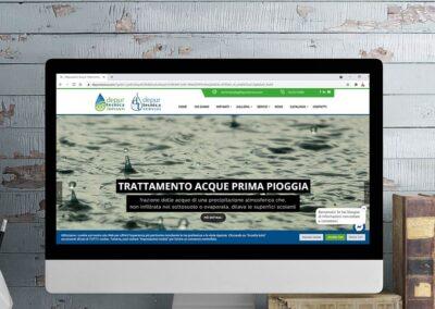 Sito web e comunicazione per il settore del trattamento acque